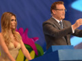 Fernanda Lima au tirage au sort de la coupe du monde de football 2014