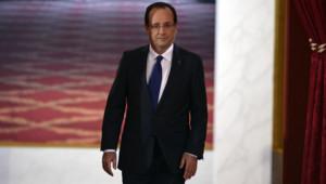 François Hollande lors de sa conférence de presse le 13 novembre 2012