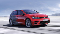 La Volkswagen Golf R Touch Concept, véritable vitrine technologique pour le constructeur allemand.