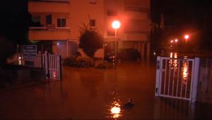Le 13 heures du 15 novembre 2014 : Var : tout un quartier inond� Sainte-Maxime - 188.369