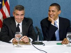 People : George Clooney et Barack Obama