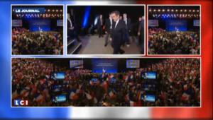 A Strasbourg et Aurillac, Sarkozy et Hollande se répondent sur les tueries
