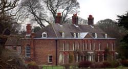 Amner Hall, la résidence du Prince William et de Kate Middleton dans le Norfolk immortalisée le 7 janvier 2013.