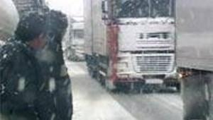 neige autoroute poids lourds