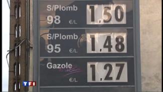 Carburant : prix record depuis 2008 à la pompe
