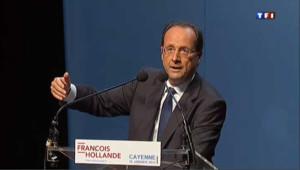 Hollande courtise les électeurs Guyanais