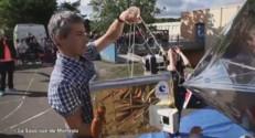 Les premières images du lancement de la saucisse de Morteau
