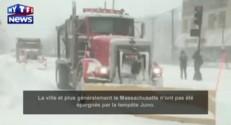 Tempête aux Etats-Unis : la Nouvelle-Angleterre est sous la neige !