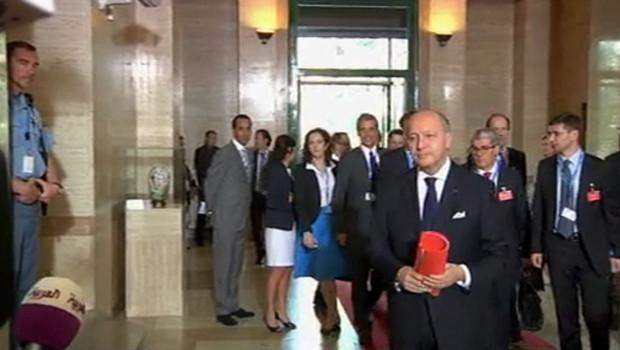 Une réunion sur la Syrie à Genève, le 30 juin 2012.