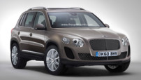 Bentley SUV illustration 2011