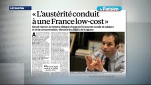 """Benoît Hamon dans Le Parisien : """"L'austérité conduit à une France low-cost"""" (10 avril 2013)"""