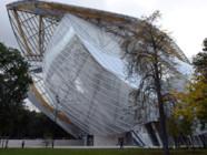 La Fondation Louis Vuitton, près du jardin d'acclimatation de Boulogne, sera ouverte au public à partir du 27 octobre 2014