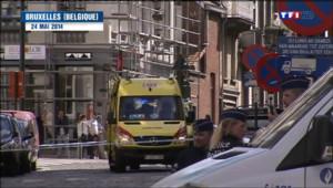 Le 20 heures du 1 juin 2014 : Attentat de Bruxelles : un suspect qui a su brouiller les pistes - 475.785