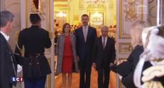Le roi d'Espagne Felipe VI à l'Assemblée nationale : les images de son arrivée