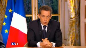 Nicolas Sarkozy sur TF1 et France 2 le 27 octobre 2011