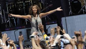 Whitney Houston face à ses fans le 02/09/2009