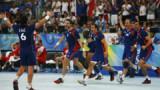 Les handballeurs français tout en haut