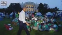 Une veillée scoute à la Maison-Blanche avec les Obama