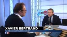 Xavier Bertrand ne réclame pas le soutien de Nicolas Sarkozy pour les régionales