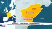 Accident mortel de car scolaire : le préfet du Doubs confirme le décès de deux adolescents
