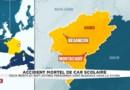 Accident mortel de car scolaire : le sous-préfet du Doubs confirme le décès de deux adolescents