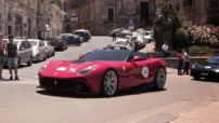 Ferrari F12 TRS, exemplaire unique produit sur base de F12berlinetta au moteur V12 740 ch, dévoilé en juin 2014