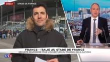France-Italie : François Hollande au Stade de France pour le premier match depuis le 13 novembre
