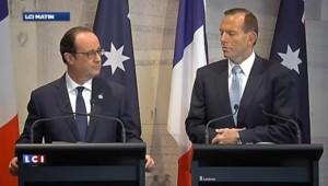 Hollande confirme la présence d'un deuxième Français sur la vidéo diffusée par l'EI