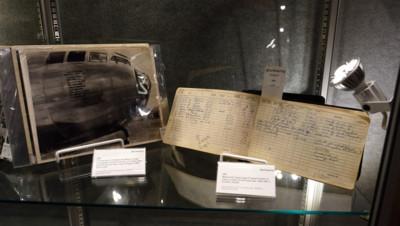 Le carnet de bord de Robert Lewis, co-pilote de l'Enola Gay