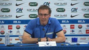 Le sélectionneur de l'équipe de France de football, le 28 mai 2012.