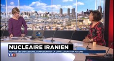 """Nucléaire iranien : """"La position de la France est la plus dure"""""""