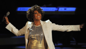 Whitney Houston en concert le 05/10/2009