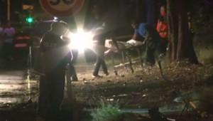 Accident à St-Denis de La Réunion, 11/12/14