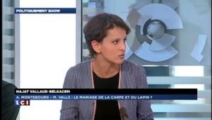 """Alstom : """"On aura fait preuve d'ambition et de pragmatisme"""", estime Vallaud-Belkacem"""