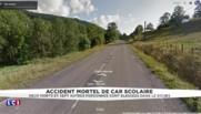 Doubs : deux morts dans un accident de car scolaire à Montbenoît