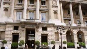 L'hôtel Crillon, à Paris