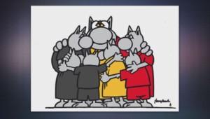 le chat belgique attentats
