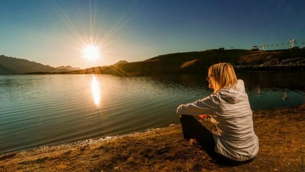 Le lac de l'Ouillette se transforme en aire de loisirs, de pêche et de pique-nique l'été venu.