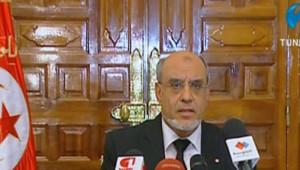 """Le Premier ministre tunisien, l'islamiste Hamadi Jebali a annoncé qu'il formera un """"gouvernement de compétences nationales sans appartenance politique"""" après l'assassinat de l'opposant Belaïd"""