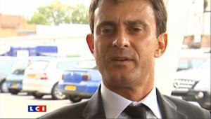 Manuel Valls en déplacement à Londres a tenté de faire un rapprochement entre les émeutes de cet été et Villiers-le-Bel dans un anglais avec un accent français très prononcé.