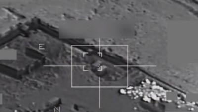 Raid aérien de l'aviation française contre une base de l'Etat islamique en Irak, 19/9/14 (Images fournies par l'armée française)