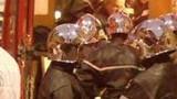 La brigade des pompiers en deuil