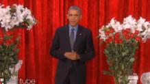 Barack Obama chez Ellen de Generes à la télévision américaine