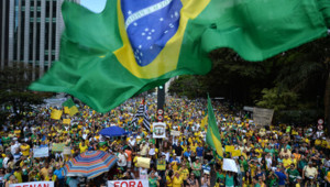 Brésil manifestations Dilma Rousseff