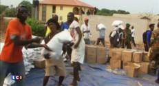 Ebola : échauffourées entre la police et la population confinée en Sierra Leone
