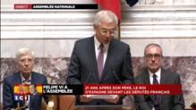 """Felipe VI à l'Assemblée nationale, """"un grand jour pour la France et l'Espagne"""""""