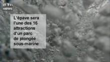Floride : un pétrolier coulé pour les besoins d'un parc d'attraction de plongée sous-marine