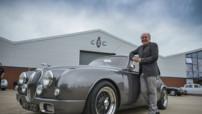 La Jaguar Mark 2 moderne modifiée par Ian Callum et Classic Motor Cars Limited en 2014