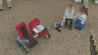 Royal baby : la princesse Charlotte immortalisée dans le monde des Lego