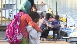 Migrants : Lesbos, la petite île de Méditerranée au bord du naufrage